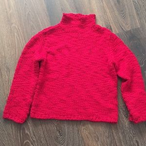 Gorgeous red, INC sweater.